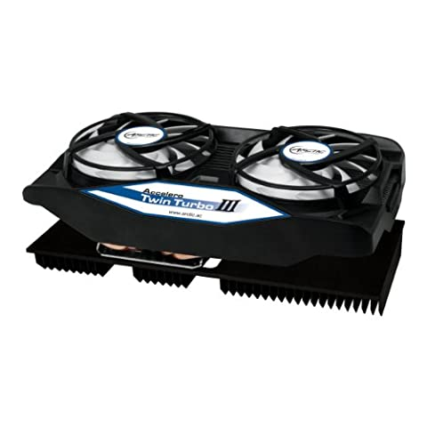 ARCTIC Accelero Twin Turbo III - Graphics Card Cooler with Backside Cooler for Efficient RAM- (Twin Turbo Fan)