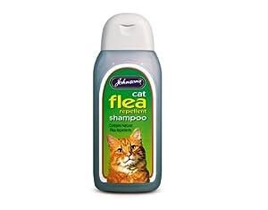 Johnsons Cat Flea Cleansing Sensitive Shampoo 125ml by Johnsons