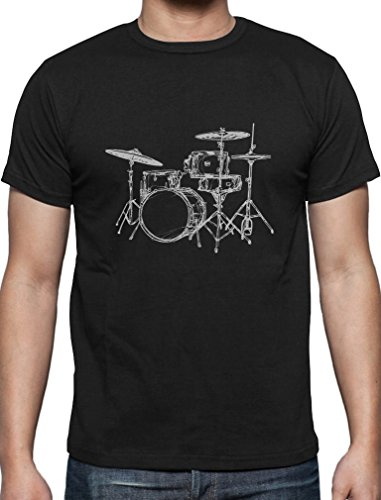 cac5c1539c Green Turtle T-Shirts Gift for Drummer - Cool Drums Present Gift for Musician  Drummer