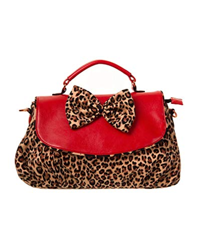 Horror-Shop Rockabilly sac Leopard
