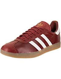 size 40 68d68 b78f4 adidas Mens Gazelle Leather Trainers