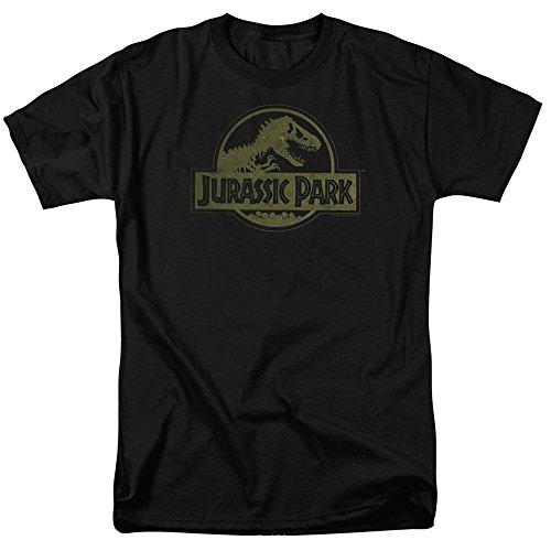 Jurassic Park - Canotte - T-shirt con stampe - Maniche corte  - opaco - Uomo nero X-Large