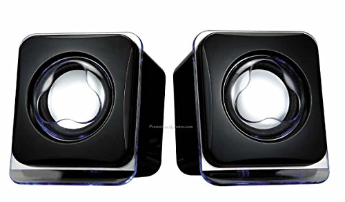 USB Powered Laptop / Desktop PC 2.0 Mini Portable Speakers