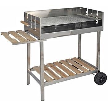 wagner grill xxl edelstahl grillwagen holzkohlegrill elektronik. Black Bedroom Furniture Sets. Home Design Ideas