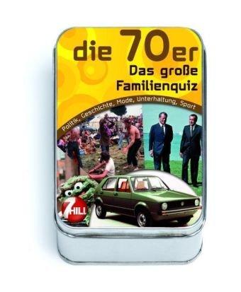 Die 70er - Das große Familienquiz: Politik, Geschichte, Mode, Unterhaltung, Sport
