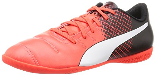 Puma Evopower 4.3 Tricks It Jr, Scarpe da Calcio Unisex – Bambini Rosso (Rot (Red blast-puma white-puma Black 03))