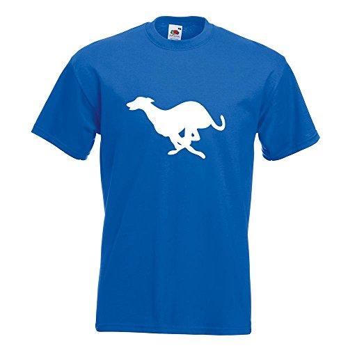 KIWISTAR - Windhund T-Shirt in 15 verschiedenen Farben - Herren Funshirt bedruckt Design Sprüche Spruch Motive Oberteil Baumwolle Print Größe S M L XL XXL Royal
