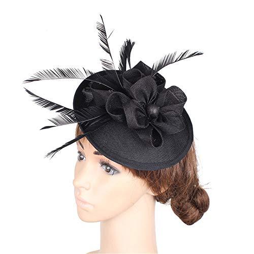 Frauen Stirnband Fascinator Hut Cocktail Tea Party Caps -
