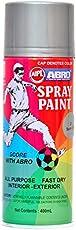 Abro Colour Spray Paint (400ml, Super Zinc)