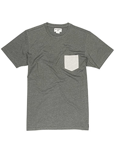 Billabong ALLDAY Pocket SS, T-Shirt Herren dark grey heath