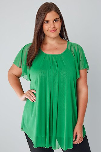 Yours Clothing - Chemisier - Femme green