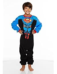 Superman Kids Fleece Jumpsuit / Onesie