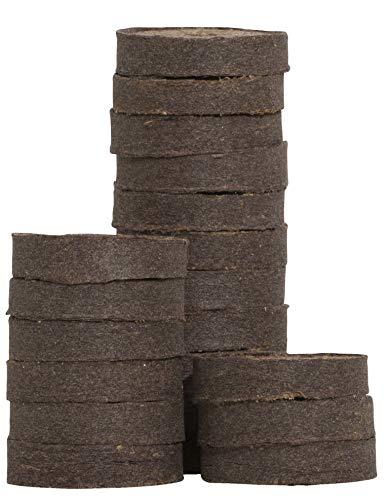 Windhager Quelltabs Coco Anzuchttabs, Torfquelltabs für erfolgreiche Pflanzenanzucht, 50 Stück, 05506