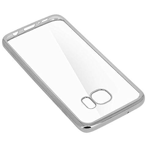 CABLING® Samsung Galaxy A3 2016 Étui Coque contour ARGENT Clair Ultra-Mince Silicone Gel Housse Coque de protection TPU Case pour Galaxy A3 2016 - argent