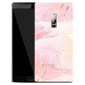 Theskinmantra Wild and Free Back Cover for Oneplus 2