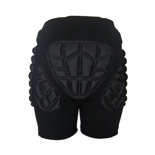 Estone - Pantalones cortos acolchados para esquiar y patinar (tallas XS a 3XL) Talla:xx-large