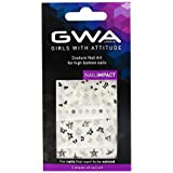 Girls With Attitude Couture Nail Art Autocollants et strass pour ongles
