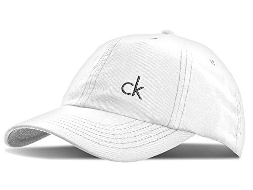Calvin Klein Golf Twill-Baseballkappe Weiß weiß NA