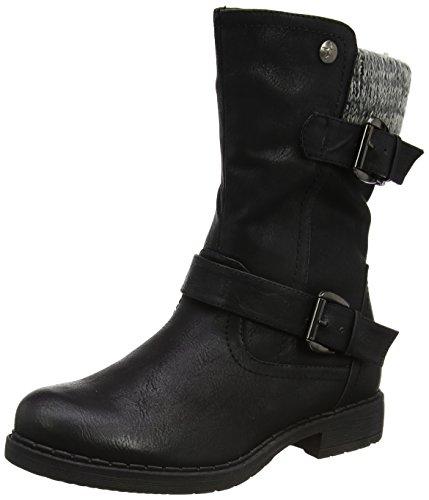 Lotus Women's Farrin Biker Boots, Black (Black), 6 UK 39 EU
