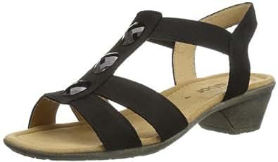 Gabor Shoes Gabor 84.542.17 Damen Sandalen, Schwarz (schwarz), EU 37 (UK 4) (US 6.5)