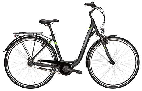 Damen Fahrrad 28 Zoll schwarz - Pegasus Avanti Citybike - Shimano 7-Gang Nabenschaltung mit Rücktritt