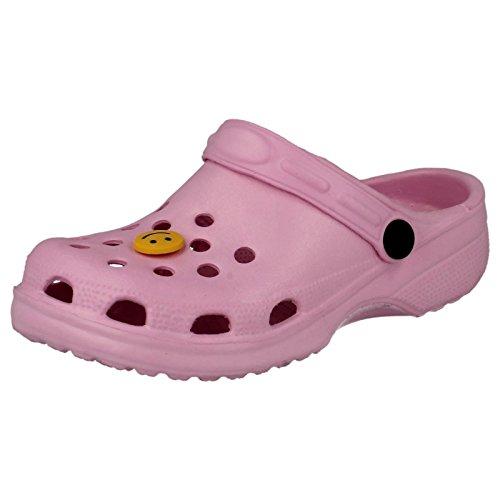 Carcassi - Scarpe con cinturino alla caviglia Unisex per bambini Pink