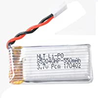 Saingace 1Pcs 3.7V 550mAh Battery Drone for JXD 523 RC Quadcopter Spare Parts toy Battery
