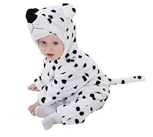 PICCOLI MONELLI Pyjamas pigiamone Dalmatiner Kind Kind ohne Beine in Stapel geeignet Even as Custom o Tutone hot di Karneval TG 90 cm