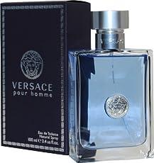 Versace Pour Homme Eau de Toilette Perfume for Men,100ml