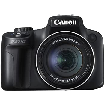 Canon PowerShot SX50 HS Digital Camera with 50x Ultra Wide Angle 24-1200mm Lens (12.1 MP, 50x Zoom) 2.8 inch Vari-angle LCD