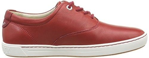 Birkenstock Belo, Chaussures Lacées Femme Rouge (Tomato Rouge)