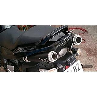 XX DOBLE Auspuff Suzuki GSR 600XX doppelt