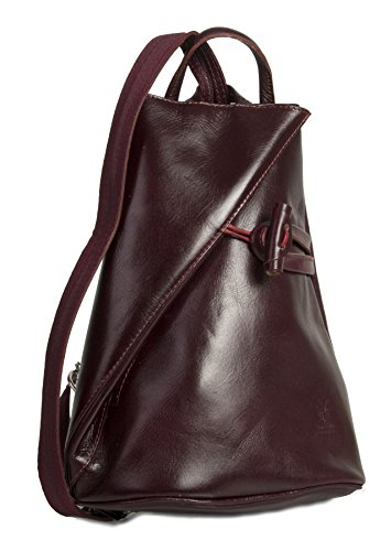 Big Handbag Shop, Borsa a spalla donna Maroon
