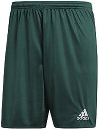 adidas Parma 16 SHO Pantaloncini per Uomo, Verde (Collegiate Green/White), M