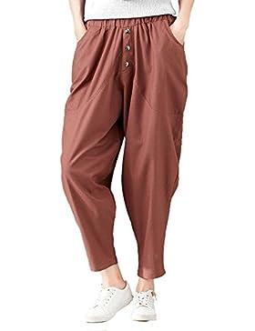 CTOOO Pantalones Estilo 'Jogger' De Ocio Moda Para Mujer