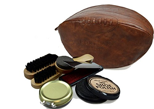 Portland Rugby Ball Shoe Shine Kit by Portland