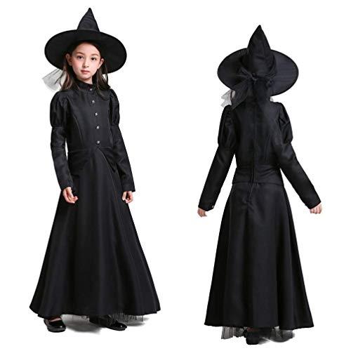 Kostüm Frau Klassischen Teufel - GJ688 1 stücke Halloween Cosplay kostüm Teufel Hexe Hexe spielt Eltern kostüm für Frau mädchen Kind für Halloween Black Friday Weihnachtsfeier,Adult,S