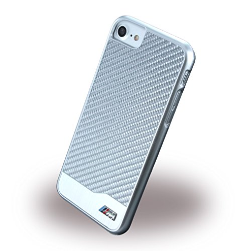 BMW BMHCP7MDCS M Sport Carbon Fiber iPhone 7 Silver carbon/aluminium/silber