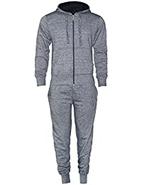 a20410ebe25f 16sixty ® S to 5XLarge New Mens Plain Tracksuit Set Fleece Hoodie Top  Bottoms Jogging Zip