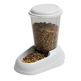Ferplast, dispenser per cibo di cane e gatto Zenith, 29,2x 20,2x 28,8cm, 3litri