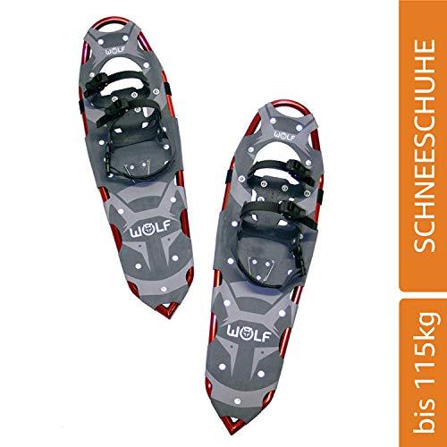 WOLF VULCANO 30 Schneeschuhe (Snow Shoes, Steigeisen, Schneewanderschuhe, Schneeschuhwandern, Eisschuhe, Steighilfe, Schuhe-Krallen, Boa, Harscheisen, Steig Ski, Snow Feat, Tiefschneeschuhe, Spikes, Fersenriemen, Schneeboots) ...