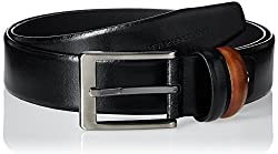 Peter England Mens Leather Belt (8907495137827_RL51691414_X-Large_Black)