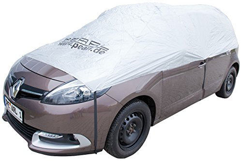 PEARL Autohaube: Auto-Halbgarage für Kleinbus & Transporter, 470 x 140 x 65 cm (Schneeschutz Auto)