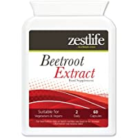 Zestlife BEETROOT EXTRACT SUPPLEMENT (High Strength) 2125mg 60 capsules   May help to substantially lower blood pressure   The iron contained in beetroot will not cause constipation.