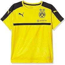 Puma BVB - Camiseta deportiva para niño (del equipo Borussia Dortmund)