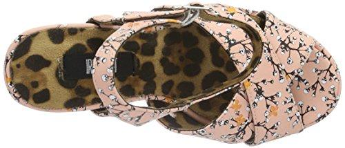 Ferro Di Morti Respiro Donna Shoes Piattaforma Pugno Rosa Platform dFRqTR1