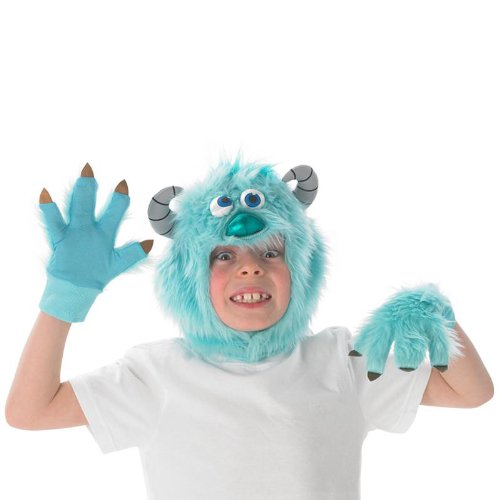 (Disney Monster AG University Kinder Kostüm Zubehör Set Sully ab 3 J.)
