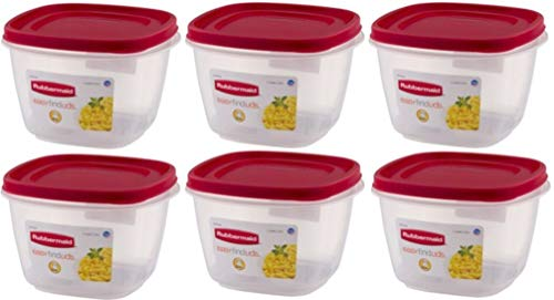 Rubbermaid Square Food Storage Container 7 Cup Clear Base by Rubbermaid Inc
