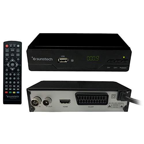 Oferta de Sunstech - DTB210HD2. Descodificador Digital TDT HD , Color Negro