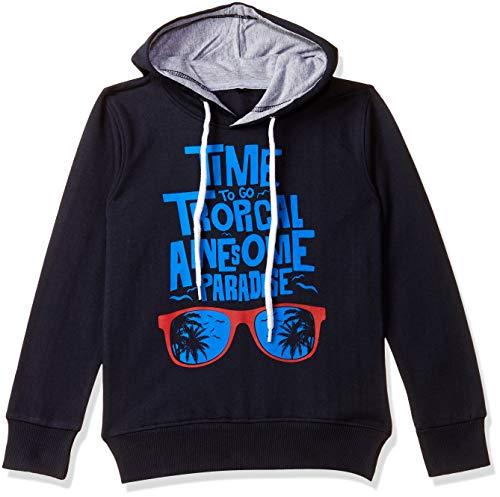T2F Boys' Sweatshirt (BYS-SS-03_Multicolor_3-4 Years)